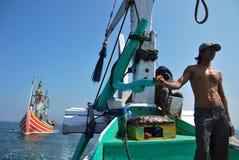 Regolamento dell'Indonesia Maritimes immagini stock libere da diritti