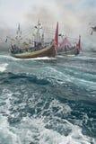 Regolamento dell'Indonesia Maritimes fotografia stock libera da diritti