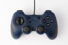 Regolatore del video gioco sulla vista superiore del fondo bianco Fotografia Stock