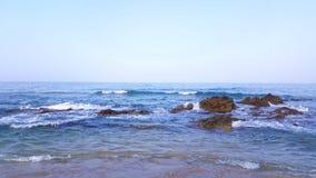 Regolatore dell'onda del mare Fotografia Stock Libera da Diritti