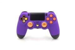 Regolatore di abitudine di PlayStation 4 Immagine Stock