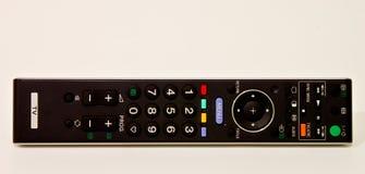 Regolatore a distanza della TV nel bianco fotografia stock libera da diritti