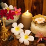 Regolazione all'aperto di massaggio della stazione termale Immagini Stock