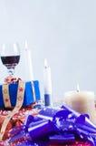 Regolazione decorata di festa Fotografia Stock