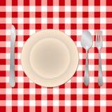 Regolazione del pasto Immagine Stock Libera da Diritti