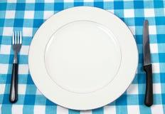 Regolazione del pasto immagini stock libere da diritti