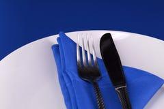 Regolazione della Tabella di pranzo Fotografia Stock