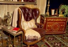 Regolazione della vendita al dettaglio della mobilia antica Fotografie Stock