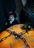 Regolazione di Halloween Immagine Stock