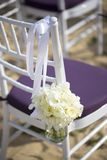 Regolazione di nozze Fotografie Stock Libere da Diritti