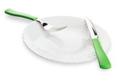 Regolazione di posto della cena Immagini Stock