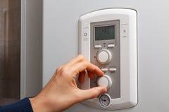 Regolazioni di temperatura Immagine Stock Libera da Diritti