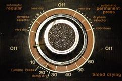 Regolazioni meccaniche sull'elettrodomestico Fotografia Stock