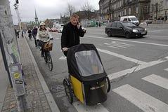 Regole di bisogno di DENMARK_biker nuove Immagini Stock Libere da Diritti