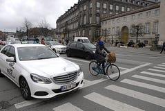 Regole di bisogno di DENMARK_biker nuove Fotografia Stock Libera da Diritti
