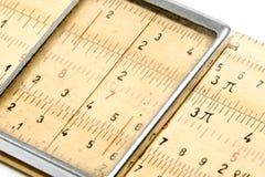 Regolo calcolatore fotografia stock libera da diritti