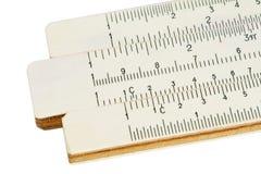 Regolo calcolatore Fotografia Stock