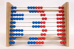 Regolo calcolatore, mostrante numero tre Immagine Stock Libera da Diritti