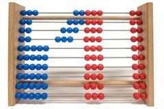 Regolo calcolatore, mostrante numero uno Fotografia Stock Libera da Diritti
