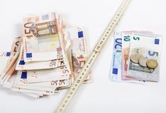 Regra de dobradura do dinheiro foto de stock royalty free