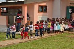 Regras de disciplina no jardim de infância fotos de stock royalty free