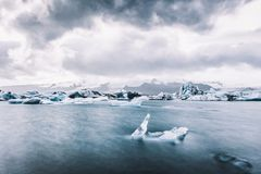 Regras de Islândia: Gelo fotografia de stock