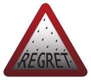 Regret Signpost Royalty Free Stock Image