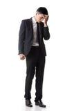 Regret young business man Stock Photos