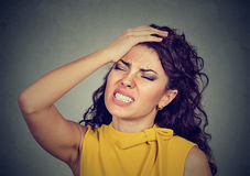 Free Regretful Young Woman Made Mistake Royalty Free Stock Photos - 85918678