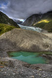 Regroupement de glacier Photos libres de droits