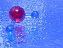 Regroupement de H2O - lavande Photo libre de droits