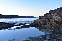 Regroupement de roche Photographie stock