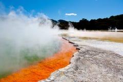 Regroupement géothermique Photo stock