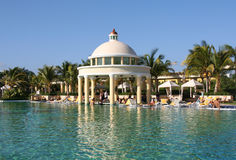 Regroupement grand iberostar de paraiso de Maya du Mexique la Riviera Photos stock