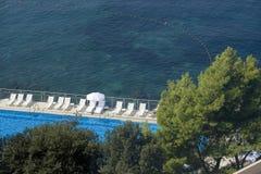 Regroupement près de mer Photos libres de droits