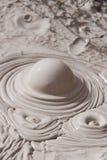 Regroupement volcanique de boue Images stock