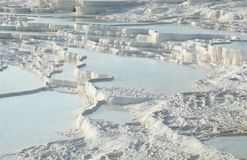 Regroupements de Pamukkale photos stock