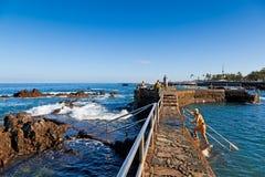 Regroupements naturels ? Puerto de la Cruz, T?n?rife Photos libres de droits