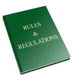 Reguły i przepisy royalty ilustracja