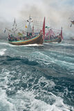 Regulación de Indonesia Maritimes Fotografía de archivo libre de regalías