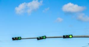 Regulación de tráfico en América Fotos de archivo libres de regalías