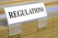 Regulaciones Imagenes de archivo