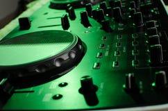 Regulador de DJ Foto de archivo