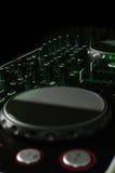 Regulador de DJ Imágenes de archivo libres de regalías