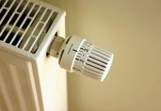Regulador de la calefacción Imágenes de archivo libres de regalías