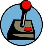 Regulador de la palanca de mando del juego Fotos de archivo