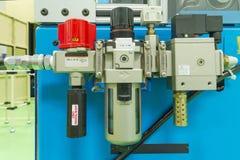 Regulador de válvula de presión de aire Imágenes de archivo libres de regalías