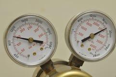 Regulador del gas fotos de archivo
