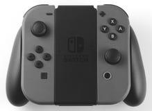 Regulador del juego del interruptor de Nintendo Imagenes de archivo