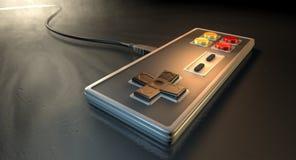 Regulador del juego del vintage Foto de archivo libre de regalías